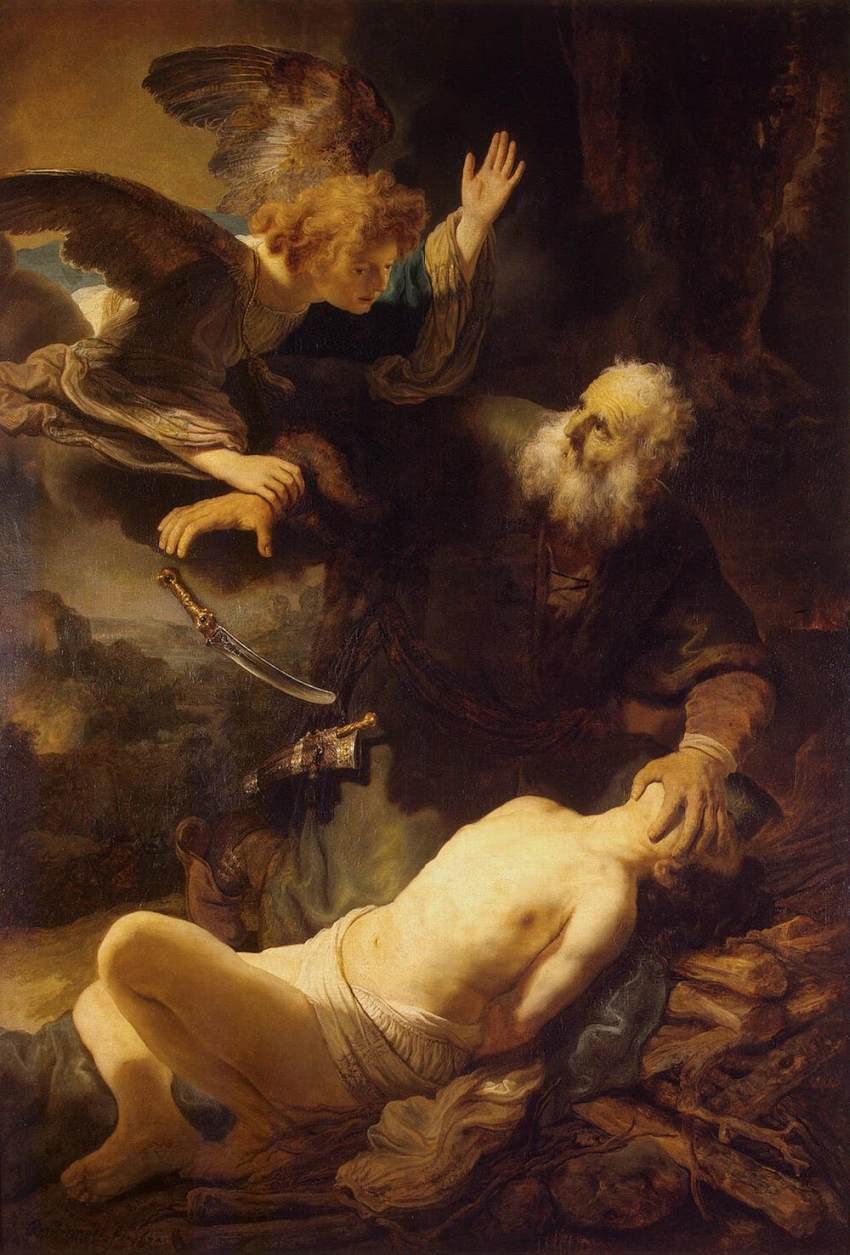 Jacob Wrestles With God Rembrandt