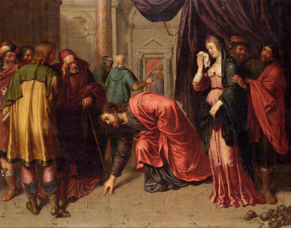 the adulterous woman The well-known story of the woman taken in adultery is not reliably present  woman caught in adultery  add  and the use of the adulterous-wife motif in a.