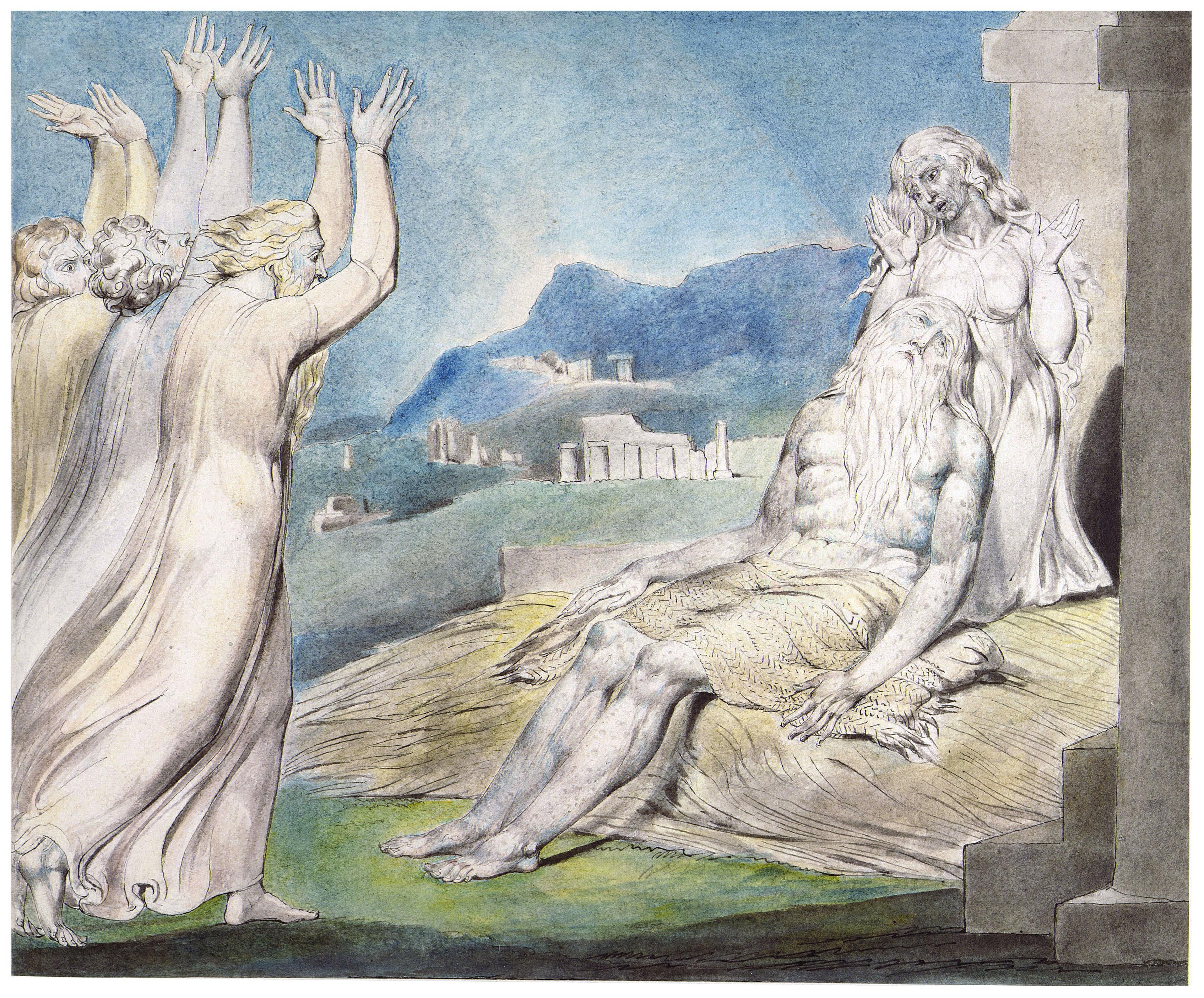 Job's Comforters | The Bible Through Artists' Eyes