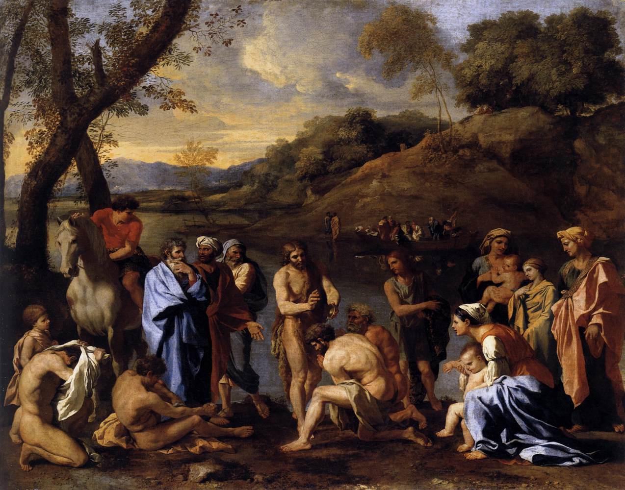 Resultado de imagem para painting of john the baptist