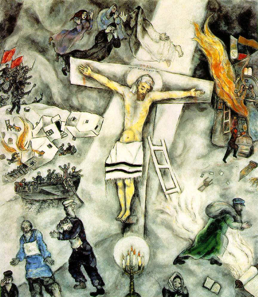 white crucifixion | The Bible Through Artists' Eyes Chagall Crucifixion
